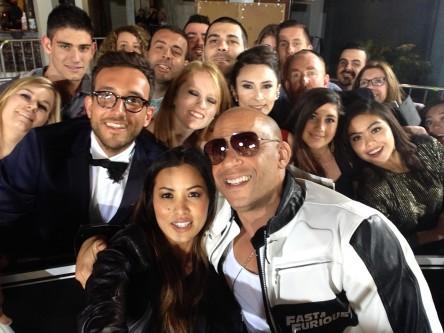 Fast 7 Selfie